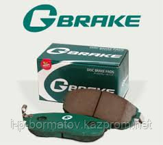 GP07069 Колодки тормозные G-BRAKE