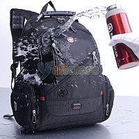 """Backpack,Textile,Black,Audio out,15.6"""",SWISS GEAR Multifunction (рюкзак ,матерчатый) M:770"""