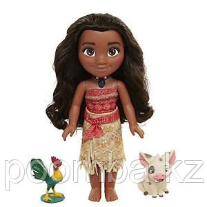"Поющая кукла-малышка ""Принцесса Моана"", 38 см"