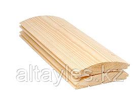 Блок-хаус (сосна) 28х146х3000 мм; сорт В (2);