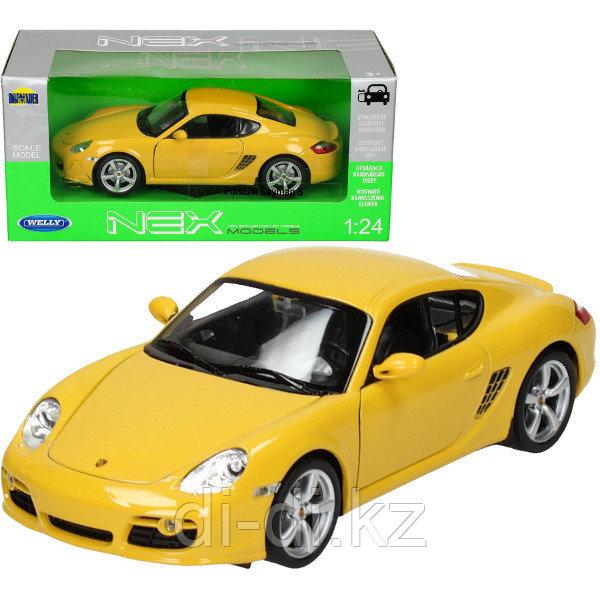 Игрушка модель машины 1:24 Porsche Cayman S