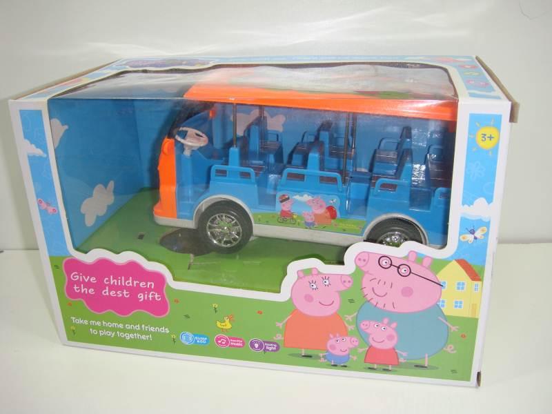Автобус свинки Пеппа