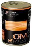 Purina Veterinary Obesity Canine OM Лечебный влажный корм для собак при ожирении, 400г, фото 1
