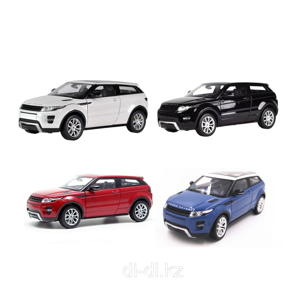 Игрушка модель машины 1:24 Range Rover Evoque