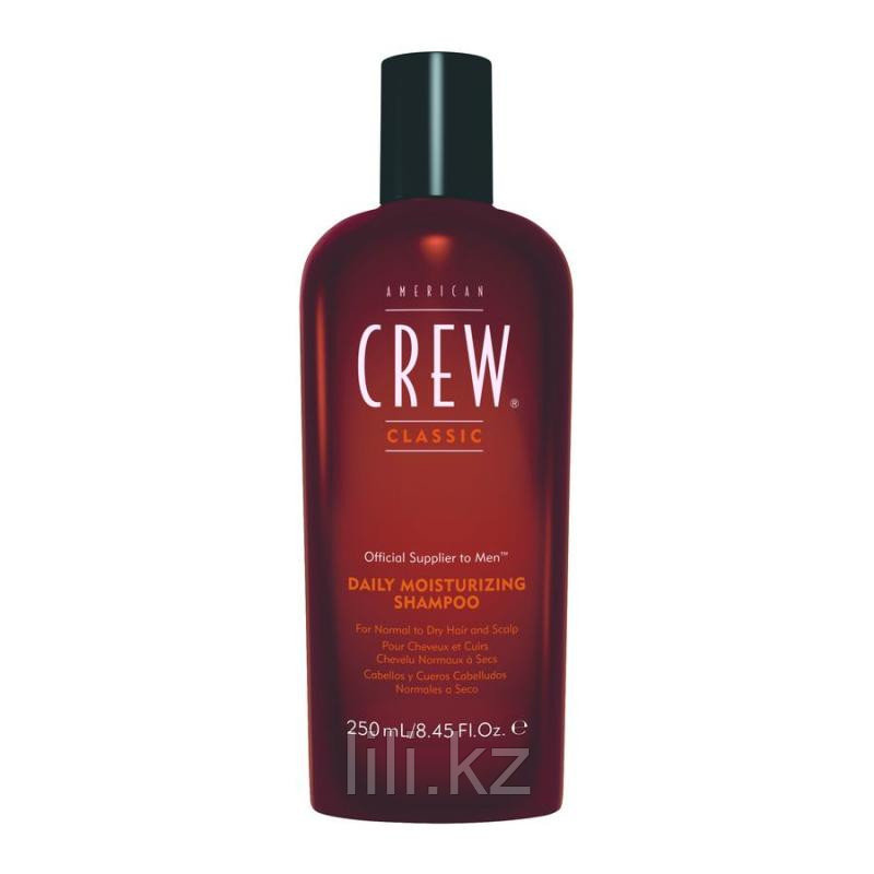 Увлажняющий шампунь для нормальной и сухой кожи головы American Crew Classic Daily Moisturizing 250 мл.