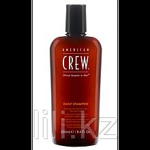 Шампунь для ежедневного ухода для нормальной и склонной к жирности кожи American Crew Daily Shampoo 250 мл.