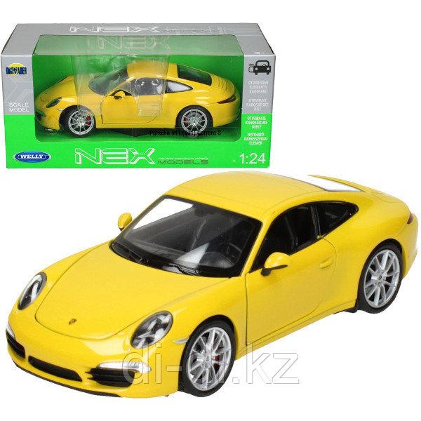 Игрушка модель машины  1:24 Porsche 911 (991)