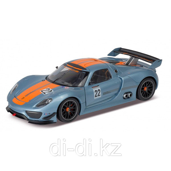 Игрушка модель машины 1:24 Porsche 918 RSR
