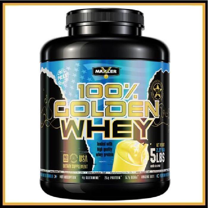 MXL Golden Whey 2,3кг (ванильное мороженое)