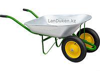 Тачка садовая два колеса грузоподъемность 160 кг объем 78 л PALISAD 68922 (002)