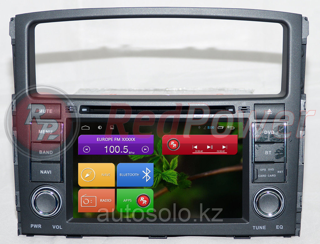 Автомагнитолы Redpower Mitsubishi Pajero 4 2011-2014 на Android