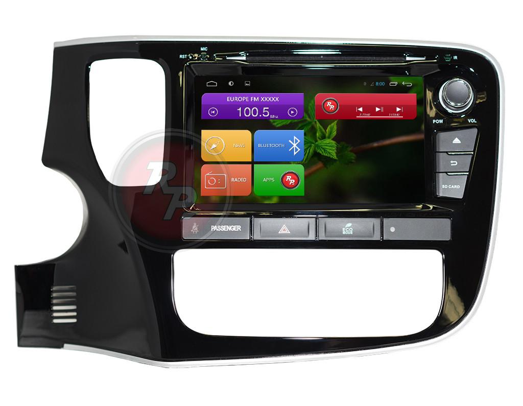 Автомагнитолы Mitsubishi Outlander 2012 Redpower Android