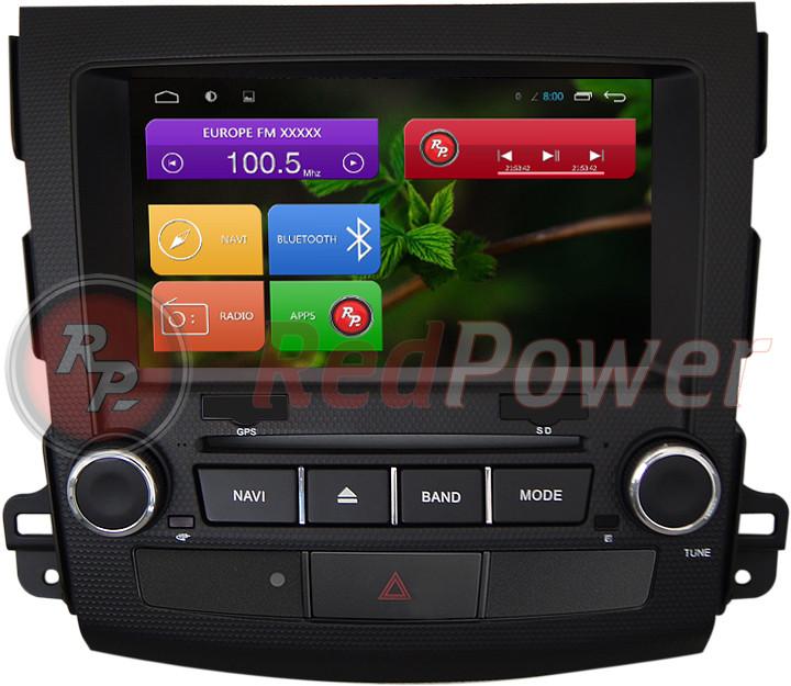 Автомагнитолы Redpower Mitsubishi Outlander XL 2006-2012 на Android