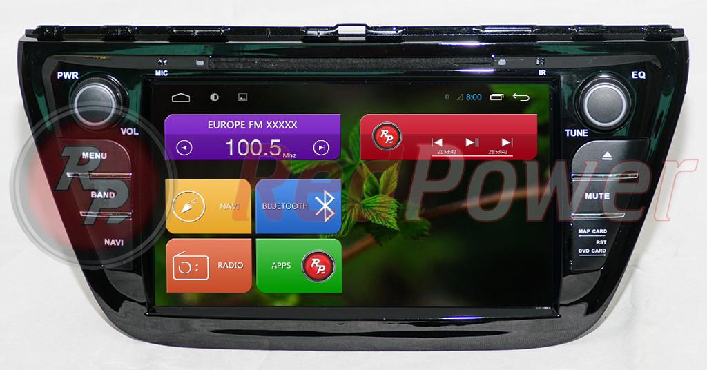 Автомагнитолы Redpower Suzuki SX-4 на Android 6