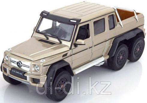 Игрушка модель машины 1:24 Mercedes-Benz G63 AMG 6x6