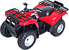 Игрушка модель квадроцикла 1:19 Kawasaki