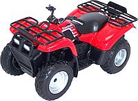 Игрушка модель квадроцикла 1:19 Kawasaki, фото 1