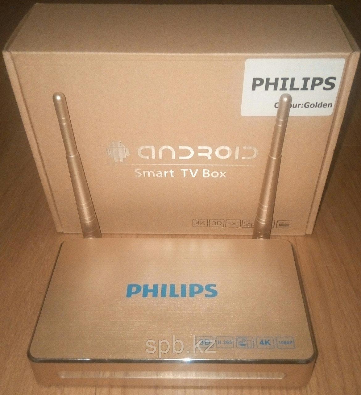 Приставка Android Smart TV-Box Philips