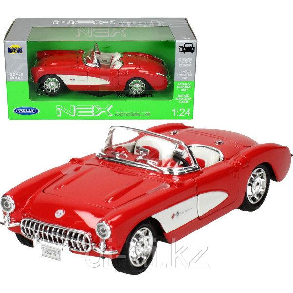 Игрушка модель машины 1:24 1957 CHEVROLET CORVETTE