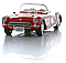 Игрушка модель машины 1:24 1957 CHEVROLET CORVETTE, фото 5