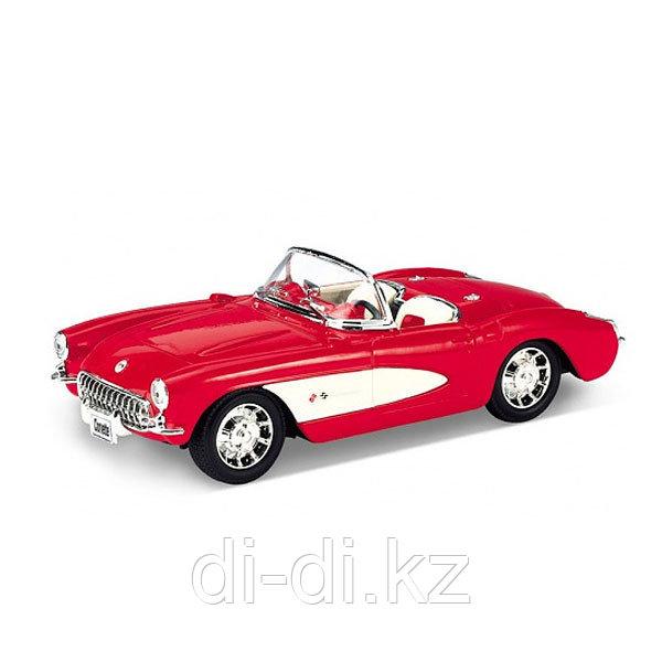 Игрушка модель винтажной машины 1:24 Chevrolet Corvette 1957
