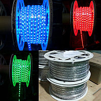 Цветная светодиодная RGB лента 220V IP67, фото 1