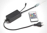 Контроллер с блоком питания для RGB ленты на 220V с ИК пультом