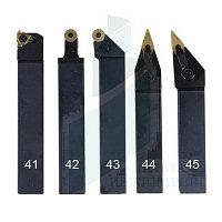 Набор токарных резцов со сменными пластинами 5 шт 20 мм (41-45)
