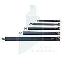 Набор расточных резцов 5 шт. державка 8-20 мм (64-68)