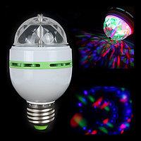 Диско-лампа светодиодная Color rotating lamp, фото 1