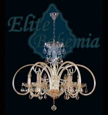 Люстра хрустальная Elite Bohemia, Чехия L442/6/02. Алматы