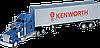 Игрушка модель грузовика 1:32 Kenwrth W900 (прицеп)