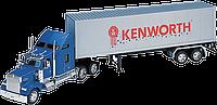 Игрушка модель грузовика 1:32 Kenwrth W900 (прицеп), фото 1
