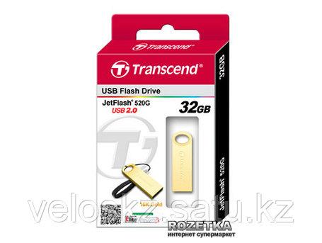 USB Флеш 32GB 2.0 Transcend TS32GJF520G золото, фото 2