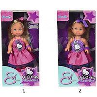 """Кукла Еви """"Hello Kitty"""" - Рок-звезда, 12 см"""