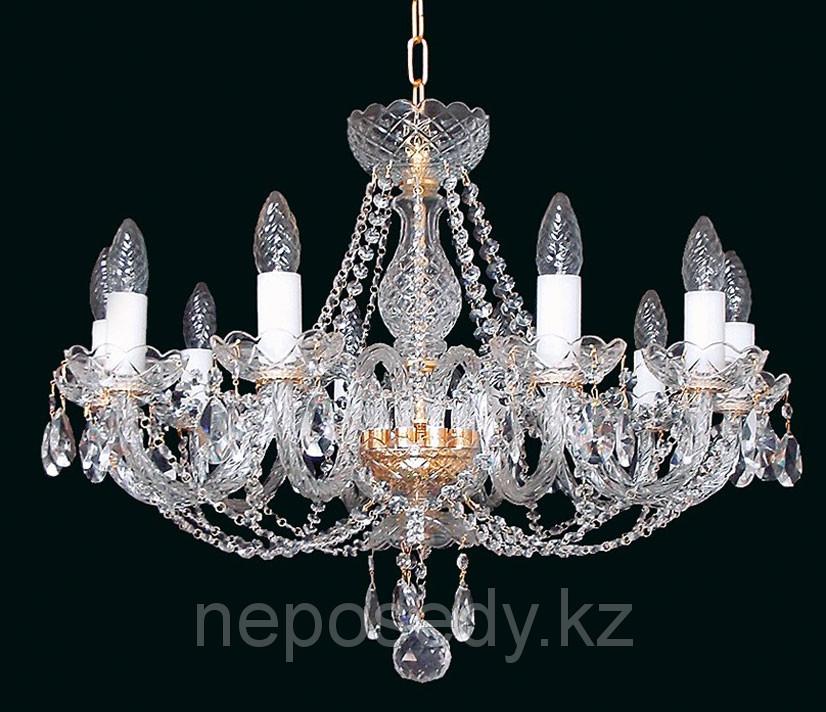 Люстра хрустальная HERMAN Lighting, Чехия Olga 10. Алматы