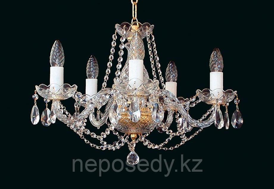 Люстра хрустальная HERMAN Lighting, Чехия L132-5-021/Olga 5