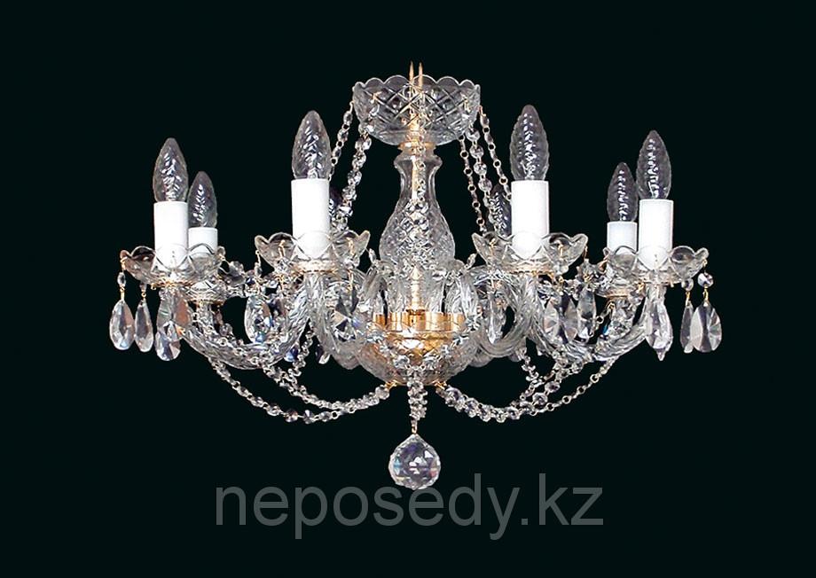 Люстра хрустальная HERMAN Lighting, Чехия Olga 8. Алматы