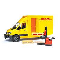 Игрушечный фургон MB Sprinter DHL с погрузчиком, фото 1