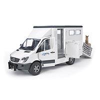 Игрушечный фургон с лошадью MB Sprinter, фото 1