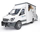 Игрушечный фургон с лошадью MB Sprinter, фото 2
