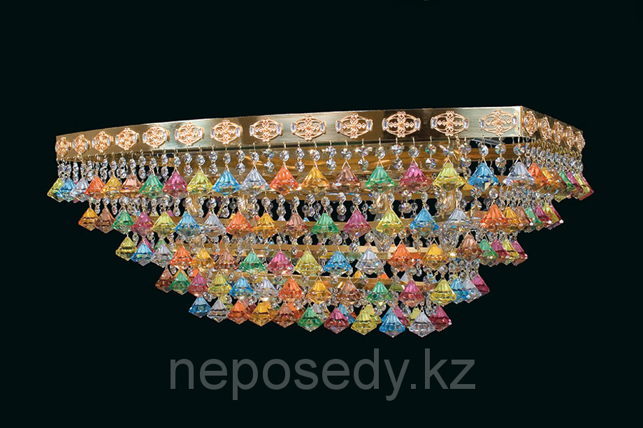 Люстра потолочная Elite Bohemia, Чехия L727/12/07 COLOR