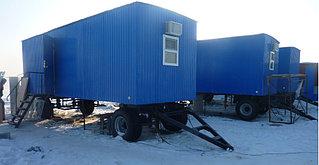 Утепленный контейнер для Бригадиров с санузлом. 3