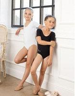 Купальник гимнастический для девочек (короткий рукав) SGK 200825