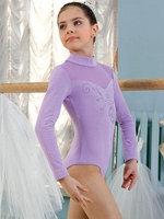 Купальник гимнастический для девочек (боди) SGB 201003