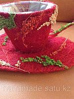 Упаковка подарочная для цветка в горшке