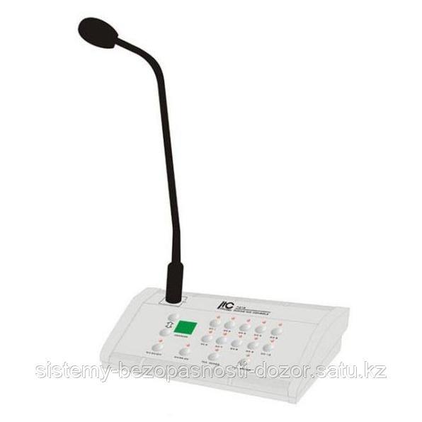 Микрофонный пульт ITC T-218 с конденсаторным микрофоном на гибкой шее