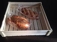 Ящик для булочек, пирожных, под выпечку 47*46*10 см.