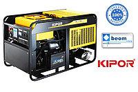 Дизельный генератор KIPOR KDE16EA 11.7кВт(1ф х 220В) +АВР Гарантия, доставка цена в Алматы, фото 1