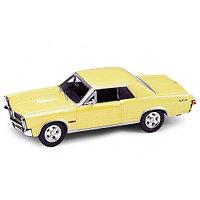 Игрушка модель винтажной машины 1:34-39 Pontiac GTO 1965, фото 1